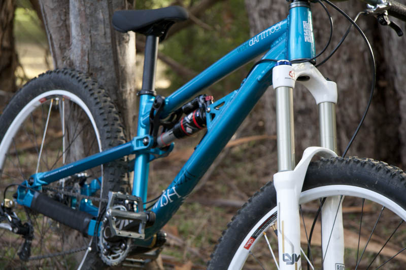 "Toms 2012 dartmoor wish, 13.6kg! with 2.4"" nobby nics, weeze guide n ring, lyriks, monarch, xtr brakes etc."