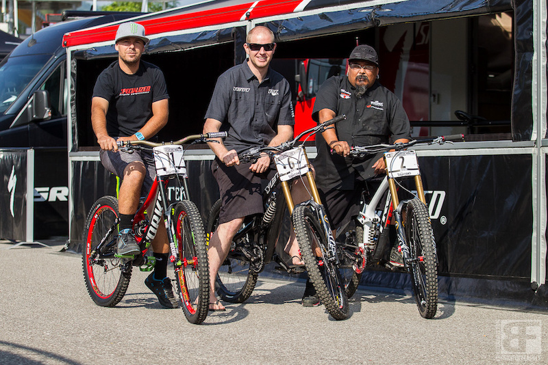 3 of the World Cup's best mechanics and their carbon fibre charges.