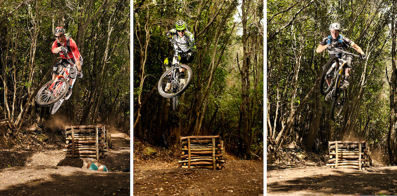 3 riders 3 styles 1 jump