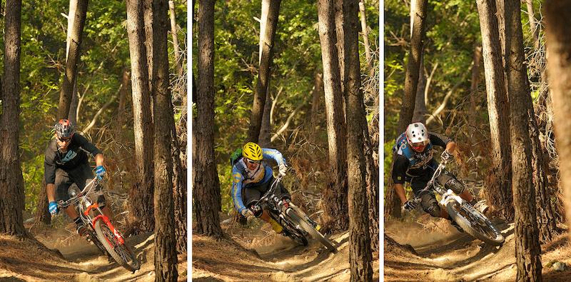 3 riders 3 styles 1 berm