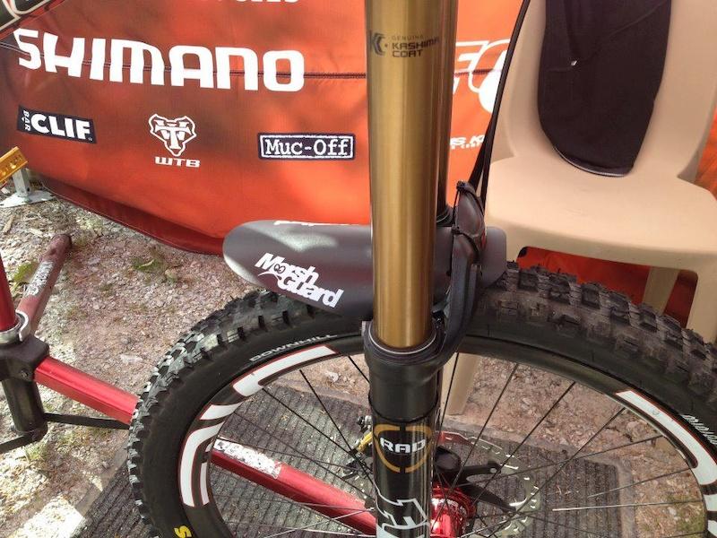bender fender template - original marshguard marsh mud guard mountain bike am dh xc