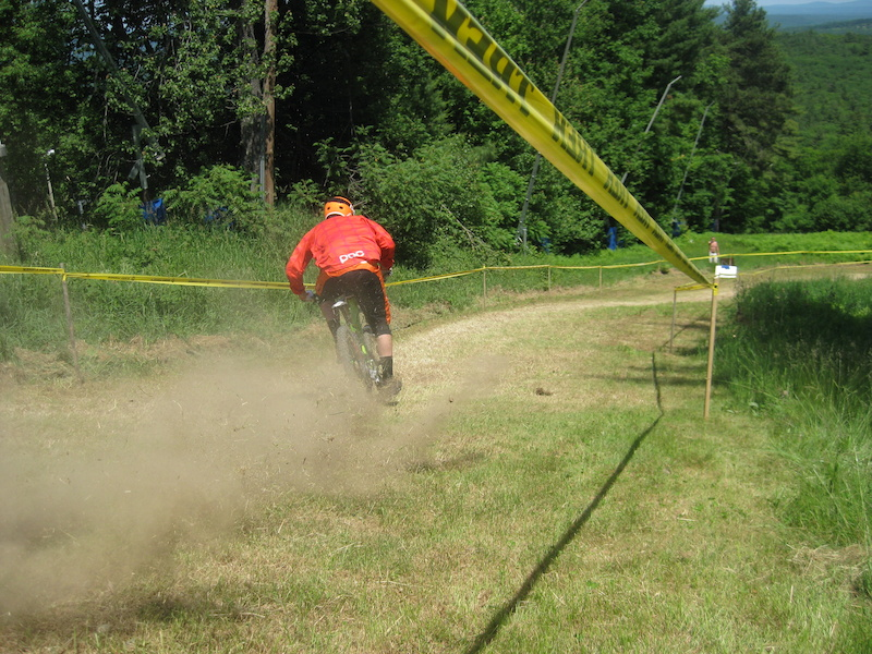 Geoff Ulmer at 32 MPH nthe POC ESC Speed Challenge at the 2012 Pats Peak POC ESC #4
