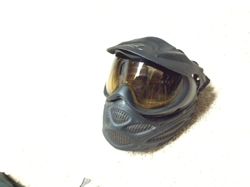 Paintball gear for sale.