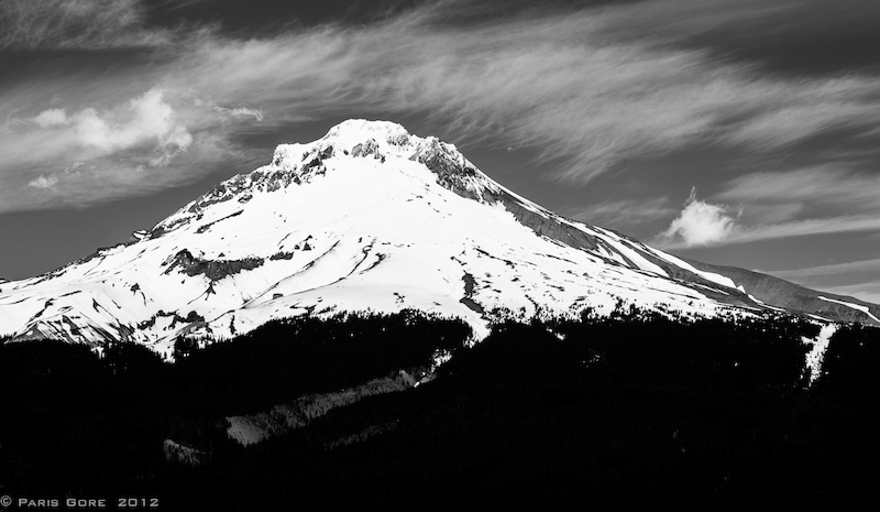 Mt Hood watches over