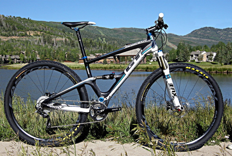 GT Zaskar 100 Pro 29er side shot