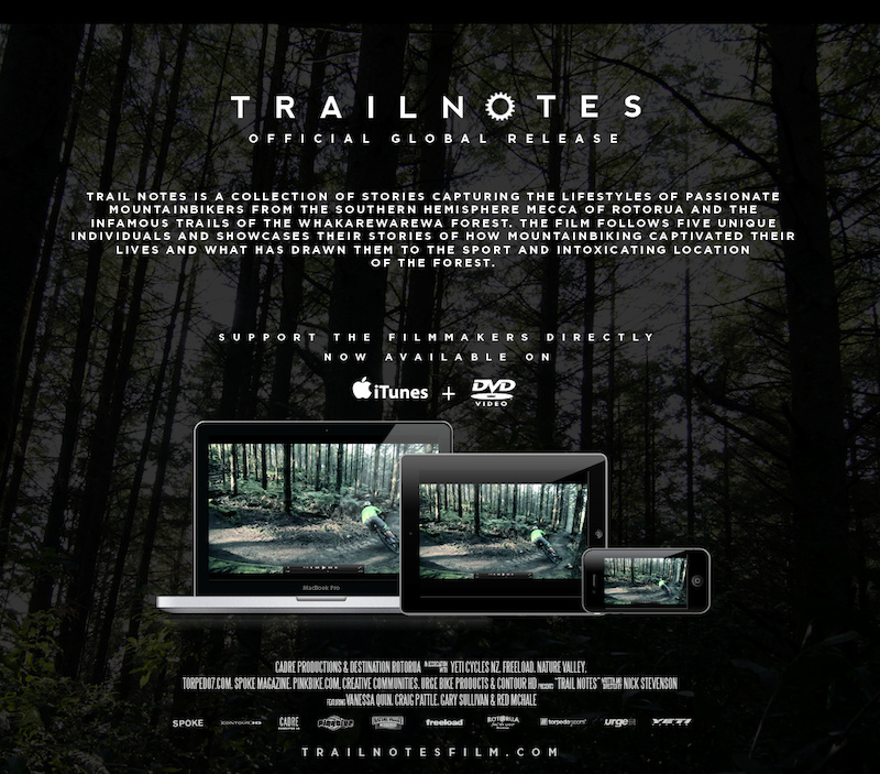 Trailnotes press picture.