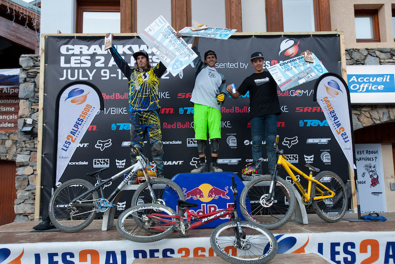 podium: zink, vink, Lemaine