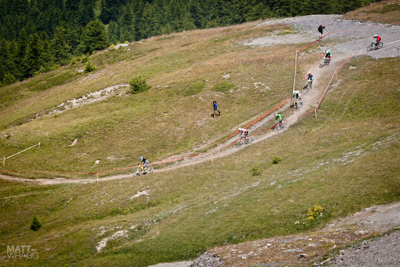 The Supermountain race for the top 100 riders.