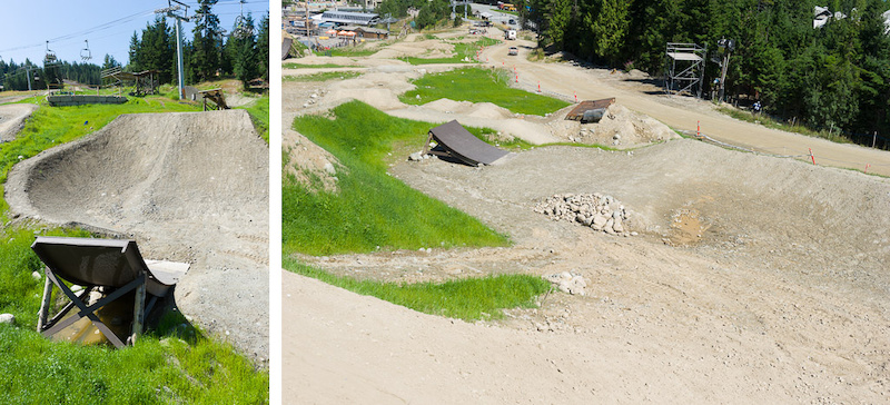 Joyride Slopestyle course
