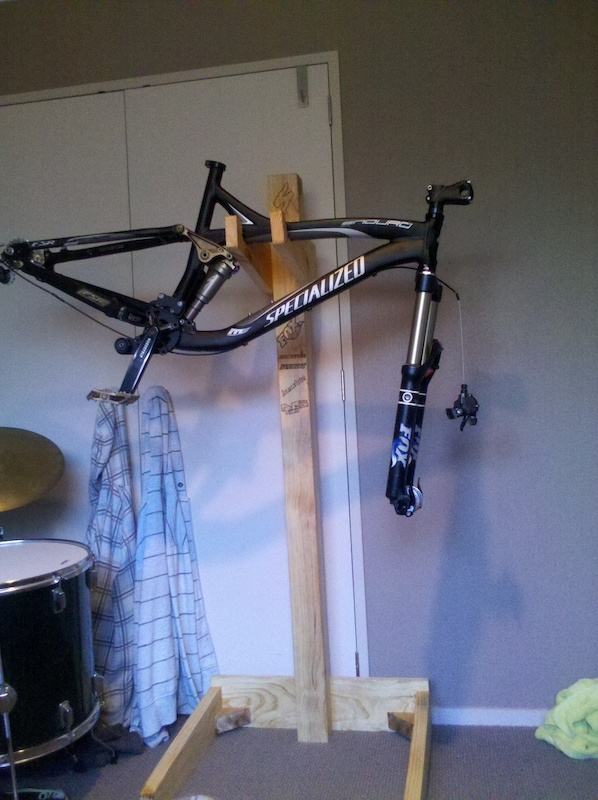 Workstand in action