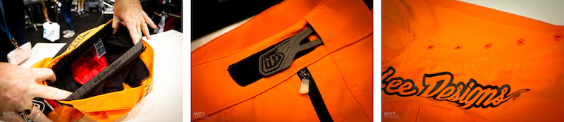Troy Lee Ruckus short details.