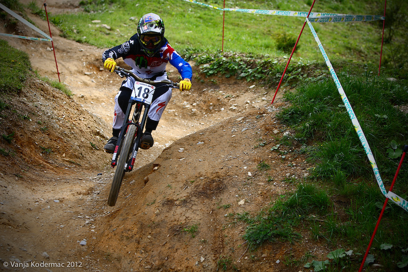 Troy Brosnan has some unfinished business here in Leogang.