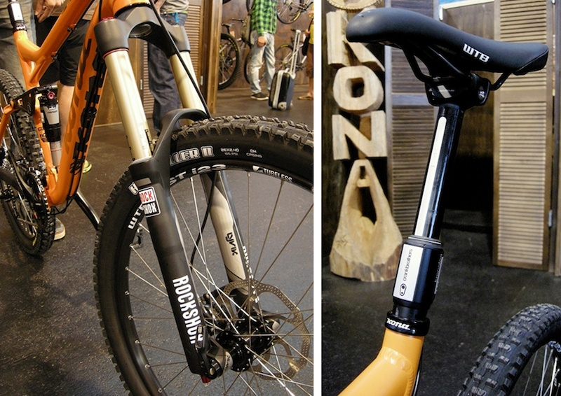 Kona Process Lyrik fork Kronolog dropper post 2013