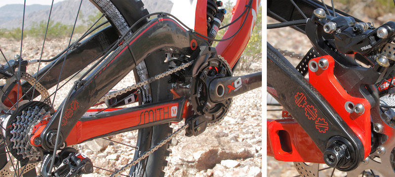 Steve Smith s Devinci Wilson Carbon that won the World Cup race in Norway.