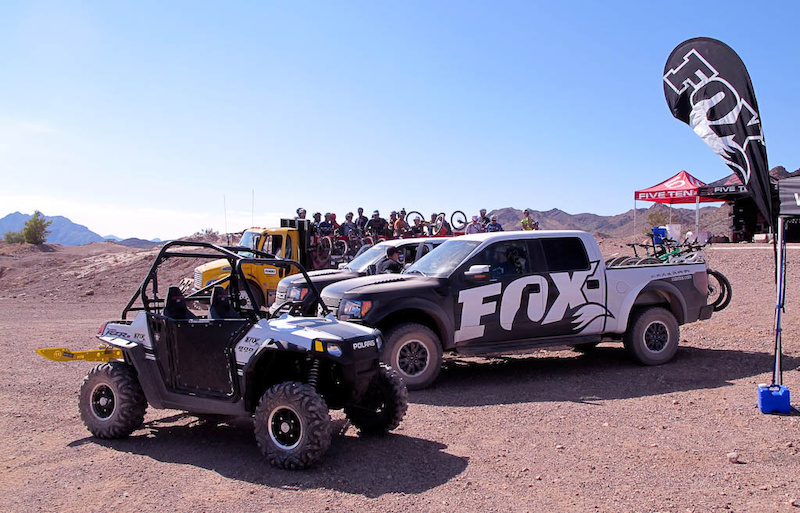 Fox RZR and Raptors - good times.
