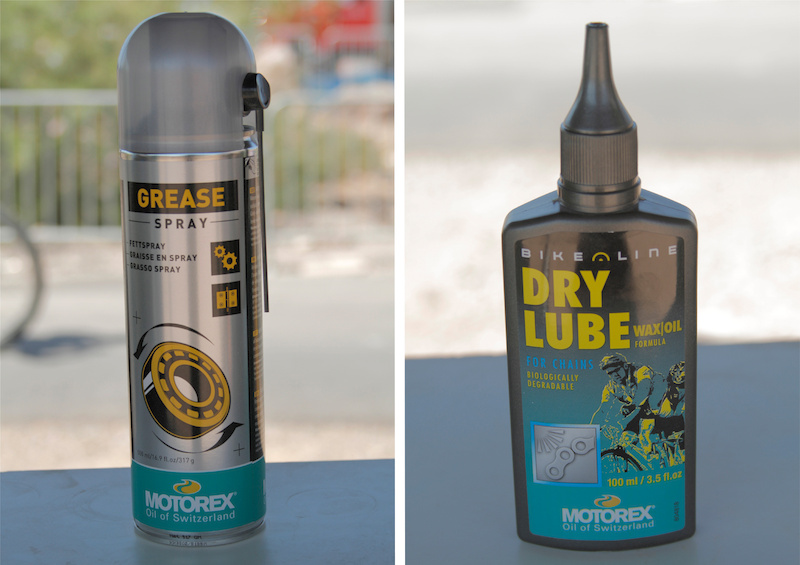 Motorex grease and lube