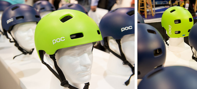 POC has a new half shell helmet the Crane, which combines a light weight dual density foam liner with a sturdy puncture and impact resistant outer shell