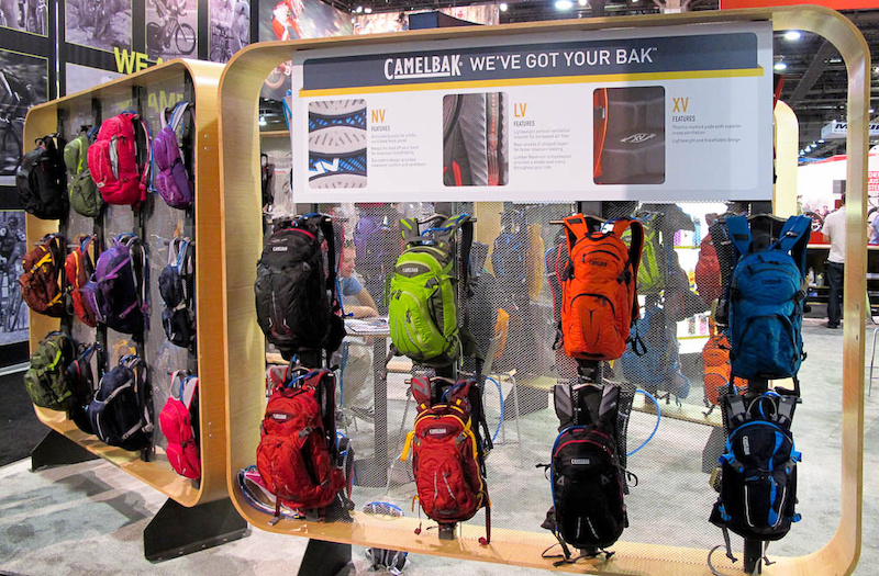 Camelbak has the most extensive hydration pack range I've ever seen.