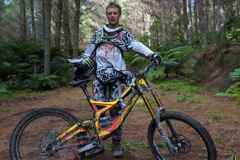 Louis with his 2012 Specialized Demo 8..