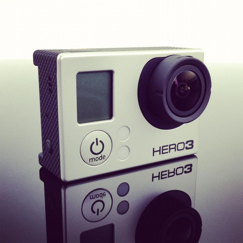 GoPro Hero3 camera - photo from GoPro Facebook.