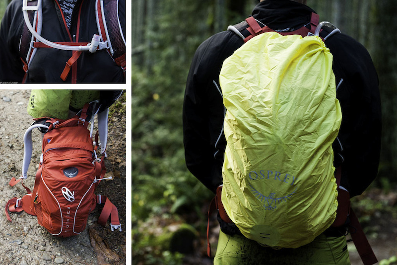 Definitely a pack for wet weather The rain fly works well and the pack itself is capable of swallowing as much gear as you are willing to carry. The magnetic clip on the sternum strap keeps the hose exactly where you want it.