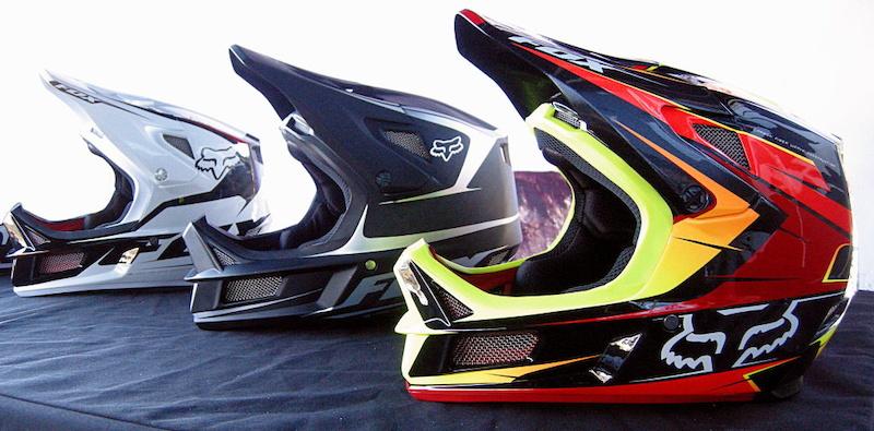 Rampage Pro Carbon Helmet 2013 Colors