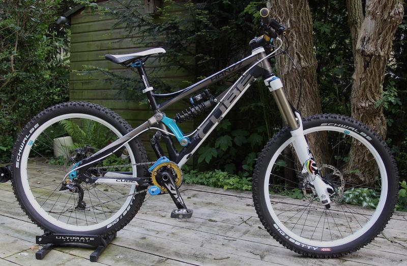 Complete Freeride Bike Cube Hanzz Sl Mountainbike Nl