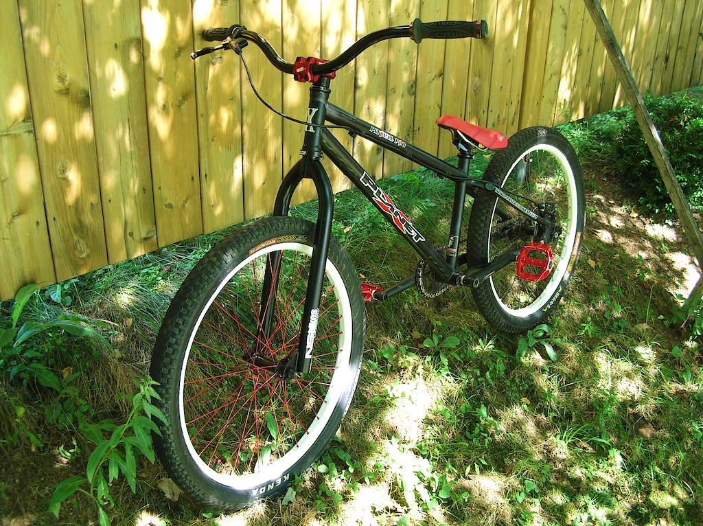 My bike with new freshly painted 2010 NS District High
