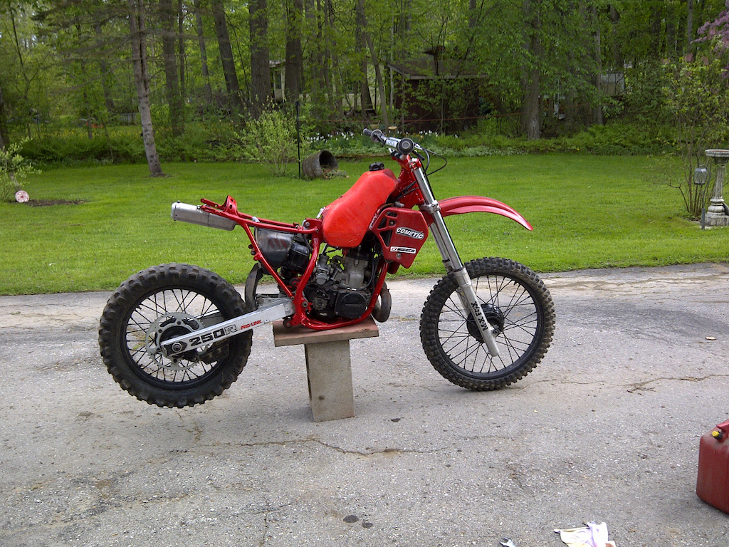 1983 Honda CR250R