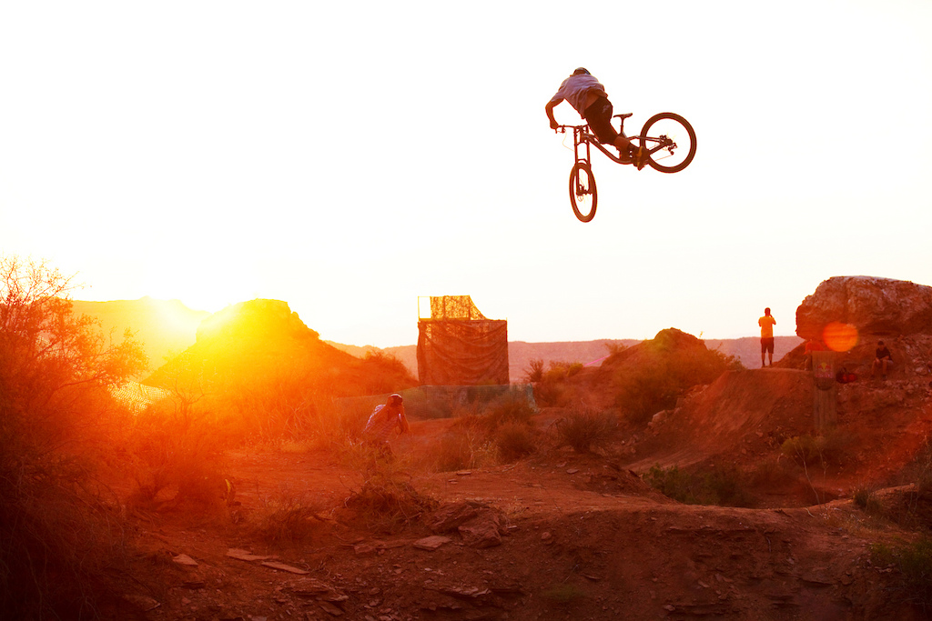 Aggy was definitely the king of whip on the opening day at Red Bull Rampage 2011. the sun made the rest