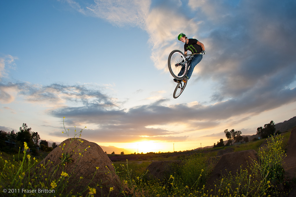 Brosnan is a pretty versatile rider for a second year junior. Here he shreds some local jumps in California.