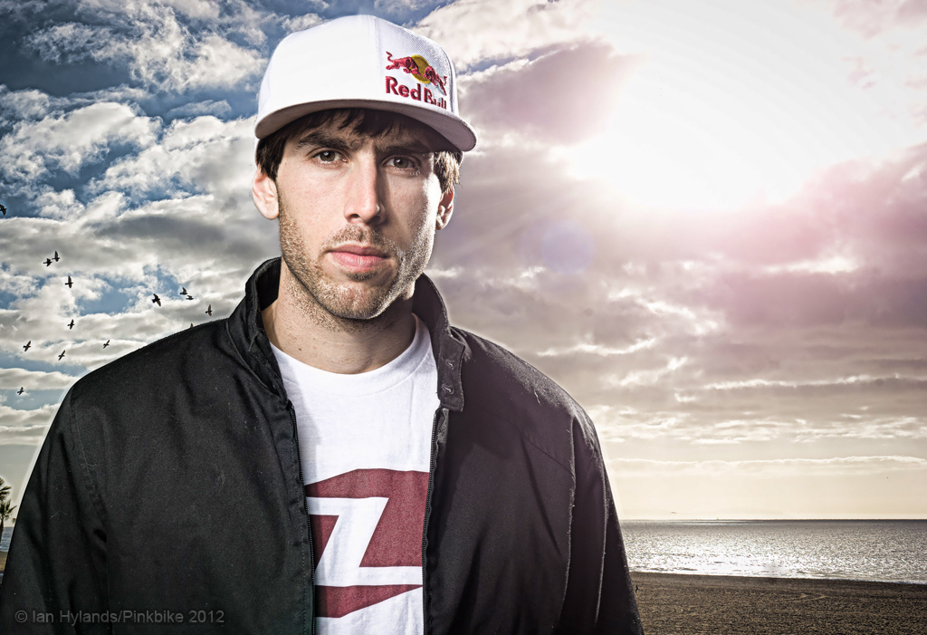 Gee Atherton at the Atherton Racing California HQ Photo by Hylands editing by http bobbogdanwilliams.pinkbike.com 