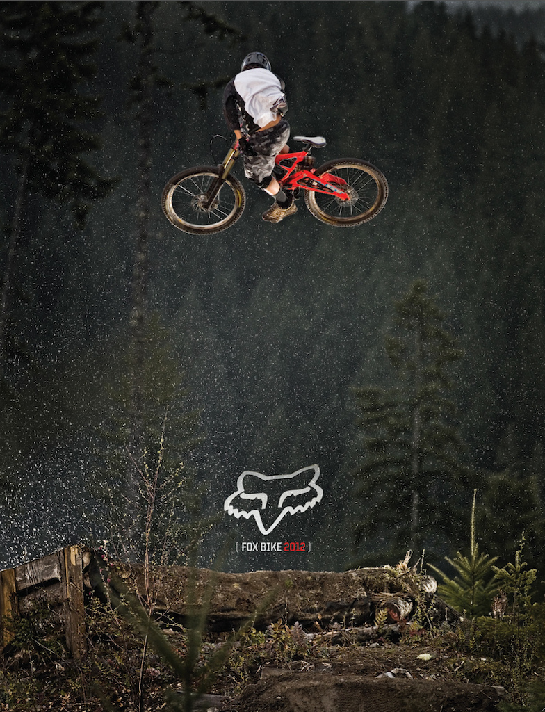 Cover of the 2012 Fox Bike Catalog