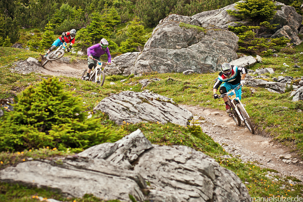 Trailfox 2011 in Flims Switzerland published in an article about Flims in german magazine World of MTB 4 2012 www.manuelsulzer.de