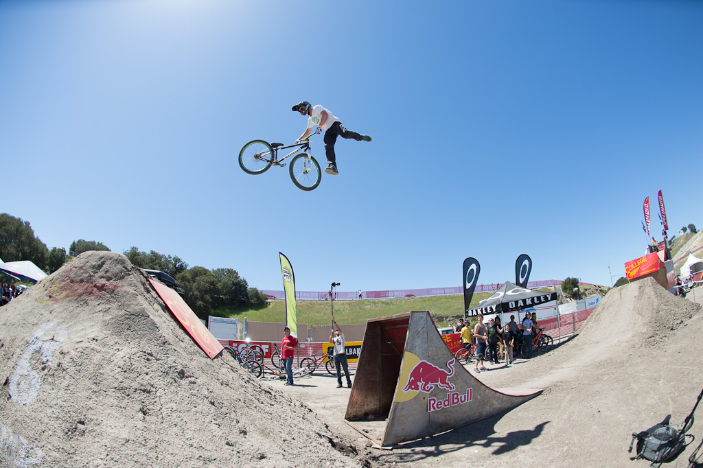James Visser at the Sea Otter Rain or Shine Jam