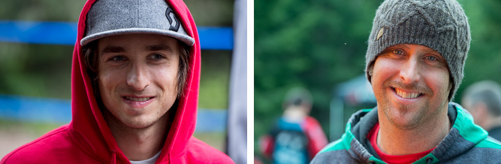 Luke Strobel and Casey Northern at the Port Angeles Pro GRT, NW Cup, and MTB Grand Prix race.