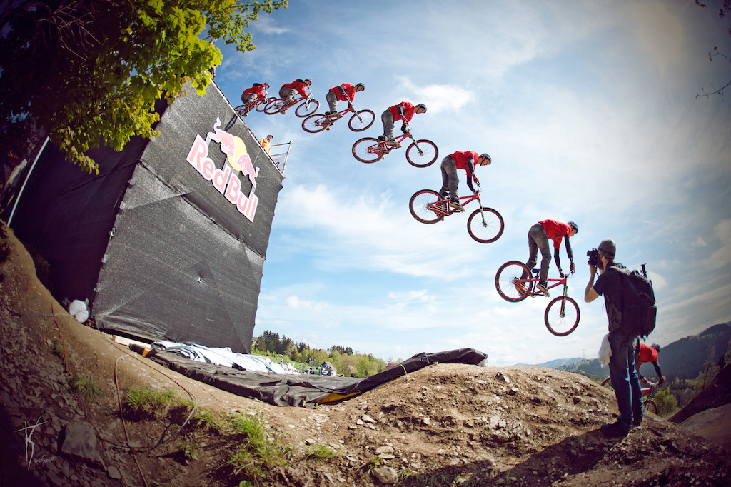 Szymon Godziek and Tomas Zejda at Red Bull BergLine 2012 in Winterberg, Germany.