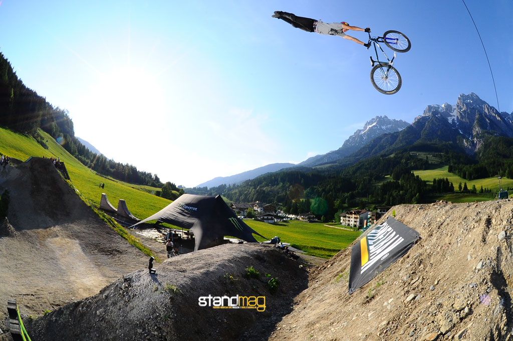 Szymon Godziek and his superman