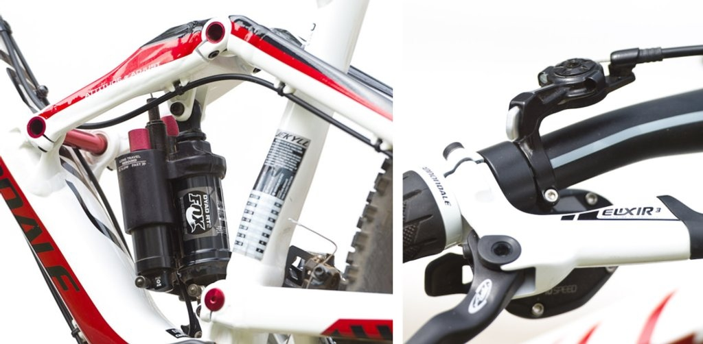 Dyad RT 2 Shock Dyad Remote lever