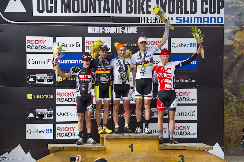 The thing to note on this podium shot is the guy waaaaay over on the right. Congratulations Max on your first World Cup podium 5 And hopefully many more to come.