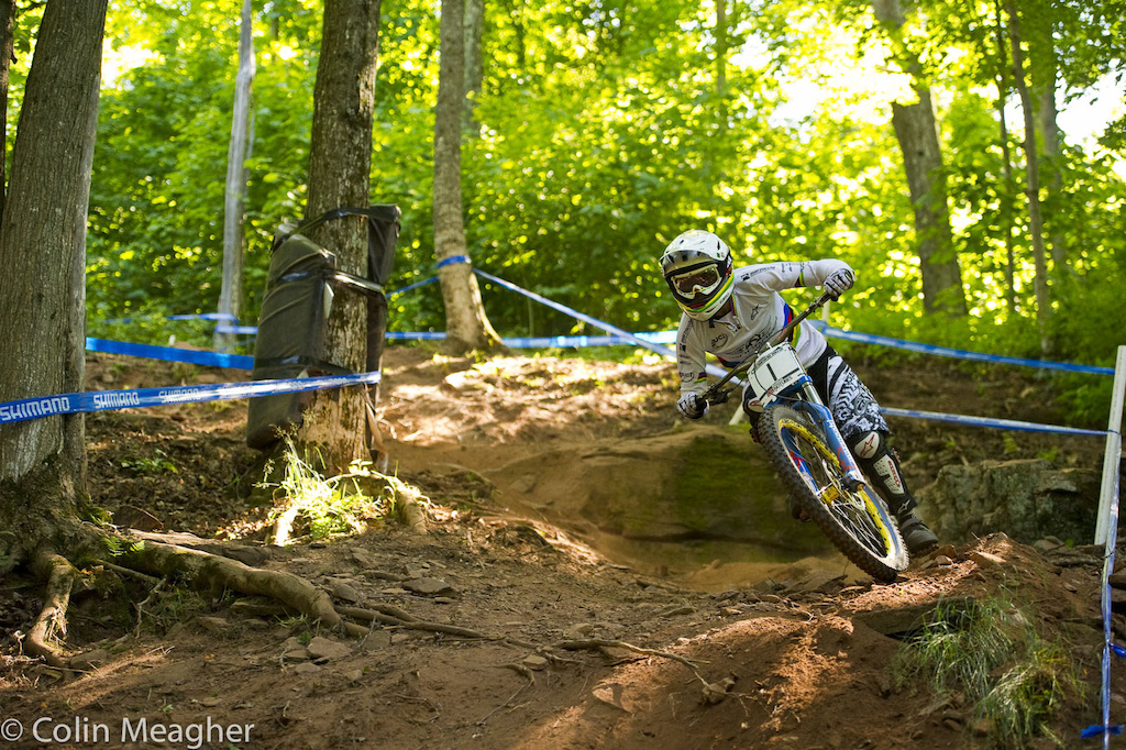 Emmeline Ragot is looking for 2.73 seconds here at Windham. On a course short as this. that may be a tall order.