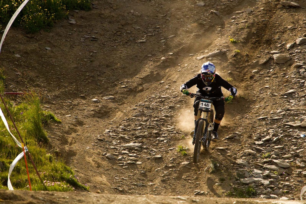 Rachel Atherton is definitely back at her top level.