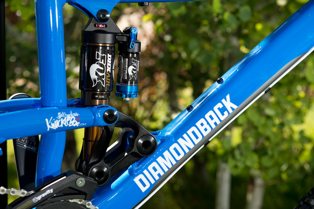Diamondback Scapegoat Knucklebox suspension
