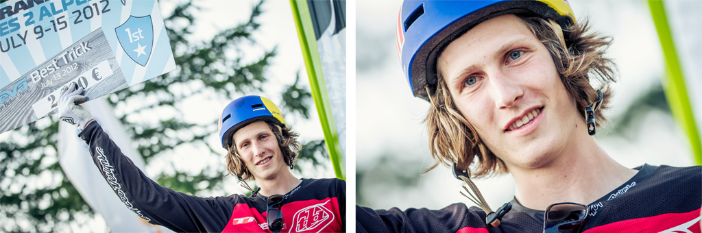 On the top with two wins in the bag Slopestyle and Teva Best Trick - Laurence CE - www.laurence-ce.com