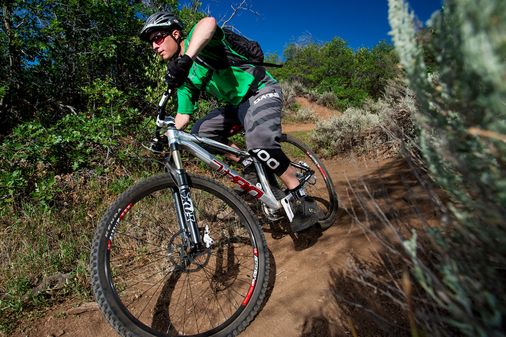 Jon Kennedy rides the 2013 Diamondback Mason AM
