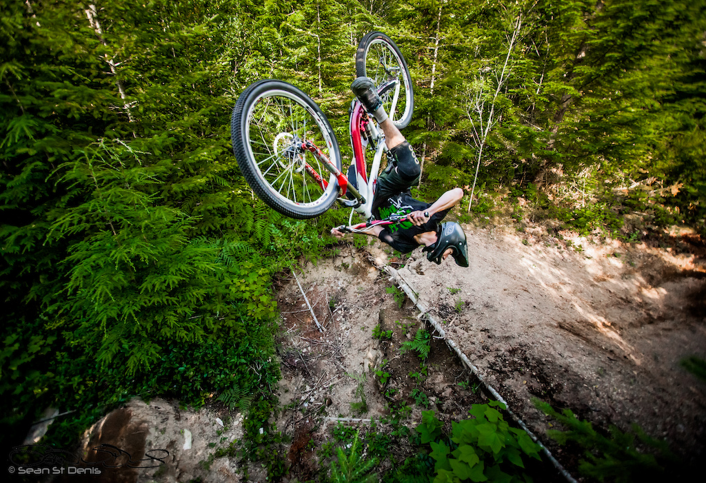 Cork flip. Photos from our day of filming in Squamish.