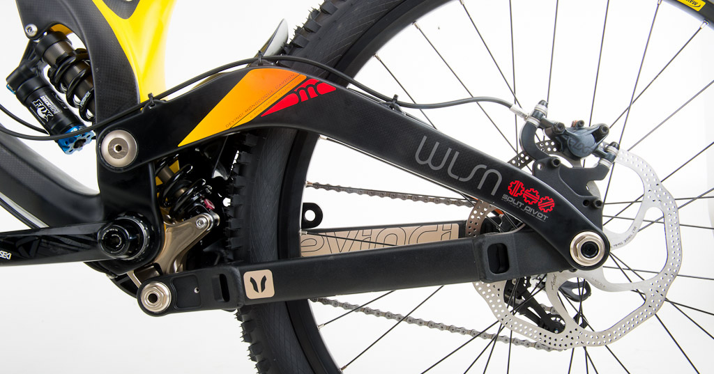 Devinci Wilson Carbon rear suspension