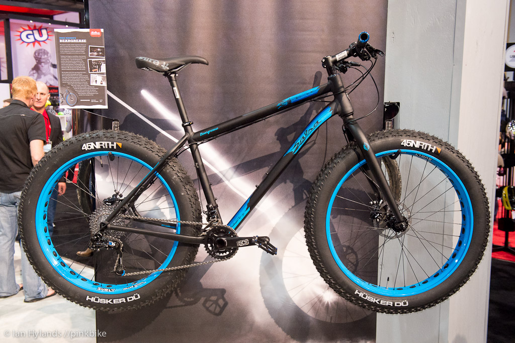 Fat Bikes seem to be all the rage this year and a number of companies seem to be making them. This one is from Salsa.
