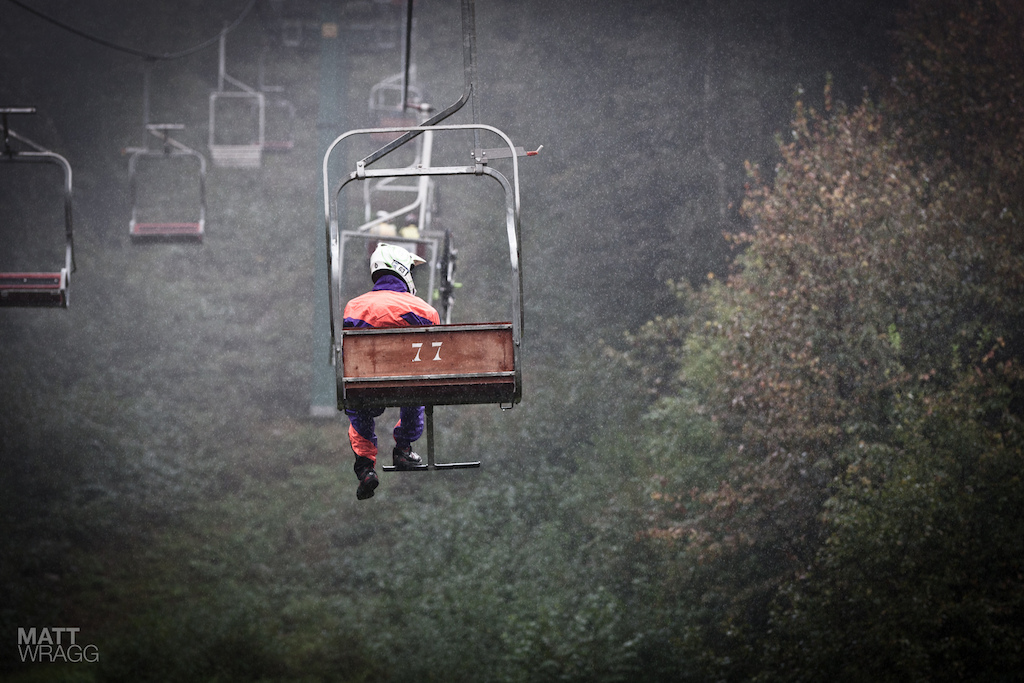 Another day another moody chairlift shot.