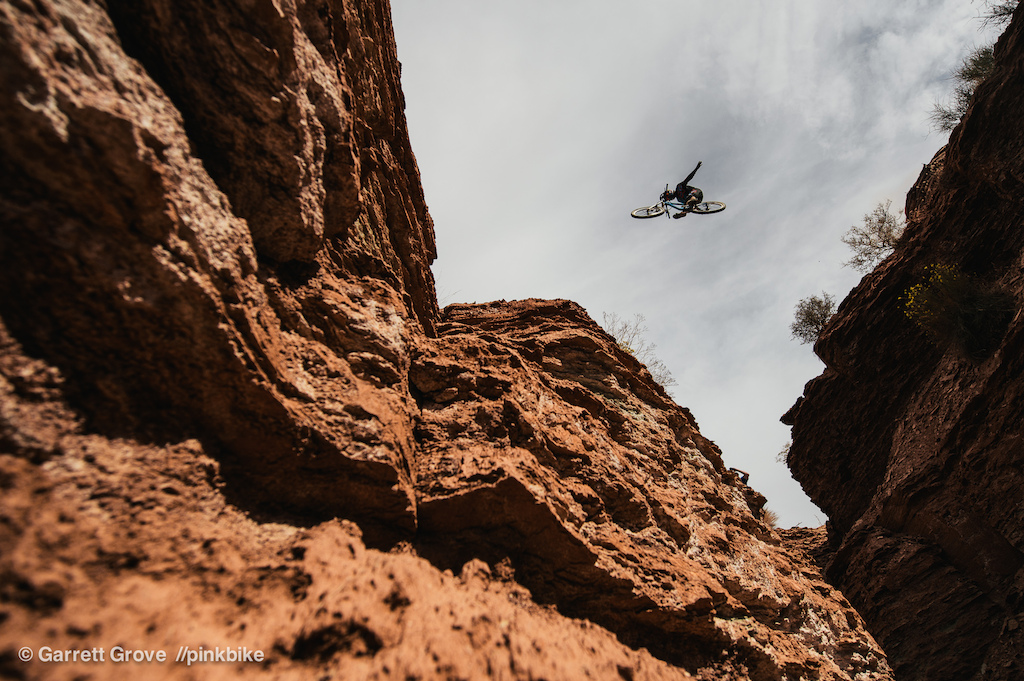 Anthony Messere threw a huge no hander over a canyon gap on his second run.
